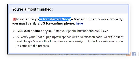How to Transfer Google Voice Number to another Gmail? 7