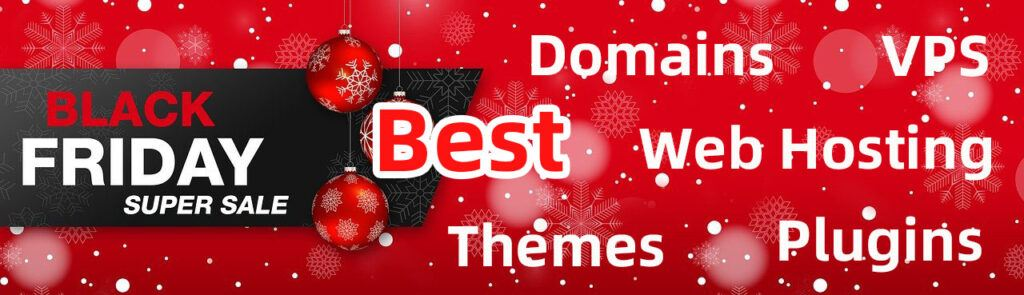 2020 Black Friday Best Discount, Domains, VPS, web hosting, themes, etc 1